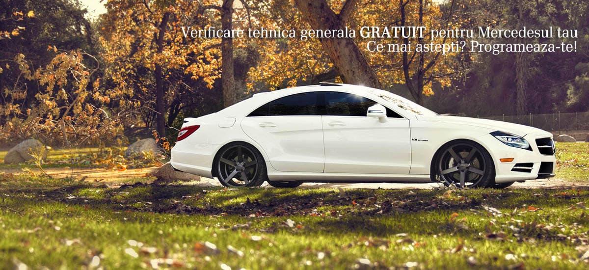 Vino sa iti verifici masina gratuit. Singurul Service Specializat Mercedes Constanta